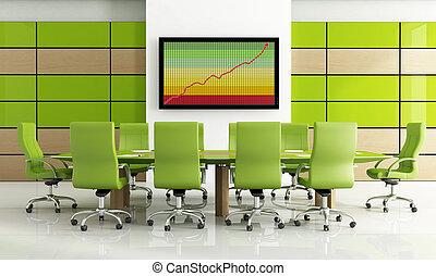 πράσινο , δωμάτιο συναντήσεων