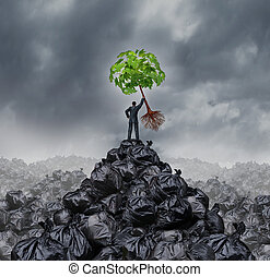 πράσινο , επιχειρηματίας