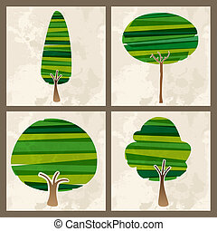 πράσινο , θέτω , δέντρο