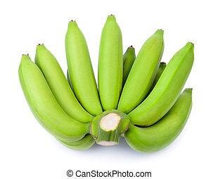 πράσινο , μπανάνα