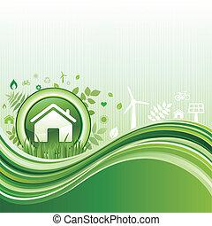 πράσινο , περιβάλλον , φόντο