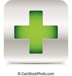 πράσινο , σταυρός