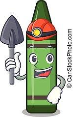 πράσινο , σχήμα , ανθρακωρύχος , μολύβι , γουρλίτικο ζώο