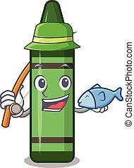 πράσινο , σχήμα , μολύβι , ψάρεμα , γουρλίτικο ζώο
