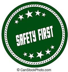 πράσινο , 5 , αστέρι , γραμματόσημο , με , ασφάλεια 1 , .