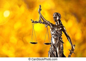 προβολέας , νόμοs , themis, concept.