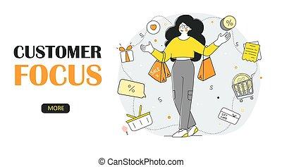 προσανατολισμός , online , προσφορά , μικροβιοφορέας , template., πελάτης , ειδικό , σελίδα , διαμέρισμα , πελάτες , προσγείωση , shopping.