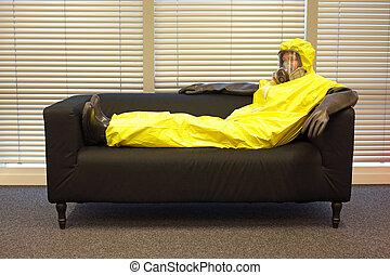 προστατευτικός , γραφείο , ανακουφίζω από δυσκοιλιότητα , κάθονται , μάσκα , καναπέs , ρουχισμόs , επαγγελματικός , γάντια