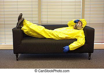 προστατευτικός , γραφείο , ανακουφίζω από δυσκοιλιότητα , μάσκα , καναπέs , ρουχισμόs , επαγγελματικός , γάντια , κειμένος
