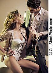 προστατευτικός , χορήγηση , jewelery , δικός του , κυρία ,...