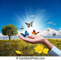 προστατεύω , περιβάλλον