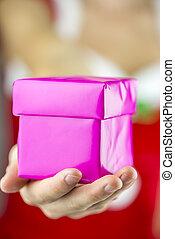 προσφορά , εσείs , ένα , χριστουγεννιάτικο δώρο