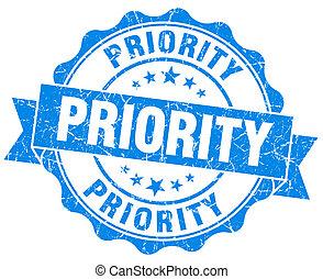 προτεραιότητα , γραμματόσημο , grunge