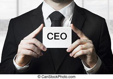 προϊστάμενος υπαλλήλων , επιχειρηματίας , κράτημα , σήμα