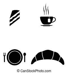 πρωινό , θέτω , απεικόνιση