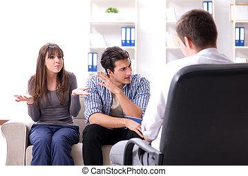 πρόβλημα , ψυχολόγος , οικογένεια , επίσκεψη