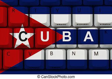 πρόσβαση , internet , κούβα