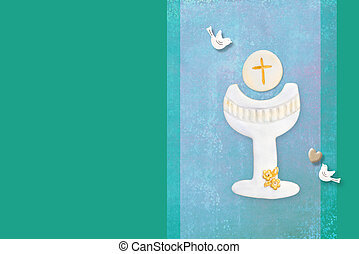 πρόσκληση , επαφή , κάρτα , άγιος , πρώτα