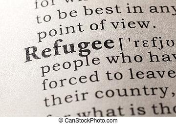 πρόσφυγας