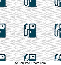 πρότυπο , αναχωρώ. , seamless, μικροβιοφορέας , καύσιμα , γεωμετρικός , texture., εικόνα