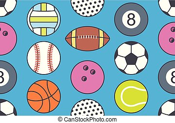 πρότυπο , αρχίδια , seamless, συλλογή , αθλητισμός