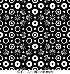 πρότυπο , αφαιρώ , μαύρο , seamless, άσπρο