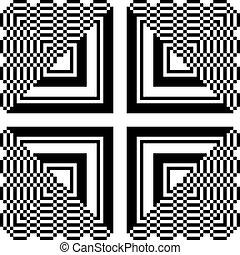 πρότυπο , αφαιρώ , τετράγωνο , τρίγωνο