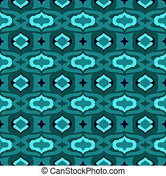 πρότυπο , κουράζω , αραβικός , διακοσμητικό σχέδιο , blue.
