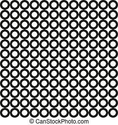 πρότυπο , κύκλοs , μαύρο , seamless, vect