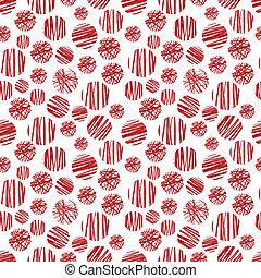 πρότυπο , κύκλοs , seamless, κόκκινο