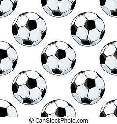 πρότυπο , ποδόσφαιρο μπάλα , seamless, φόντο