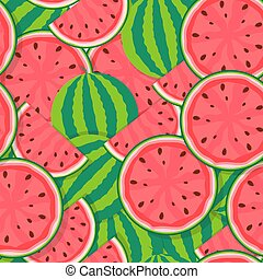 πρότυπο , seamless, εικόνα , μικροβιοφορέας , φόντο , watermelon.