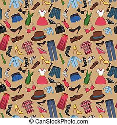 πρότυπο , seamless, ρούχα