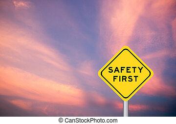 πρώτα , ουρανόs , διατύπωση , σύνεφο , κίτρινο , βιολέττα , μεταφορά , φόντο , ασφάλεια , σήμα