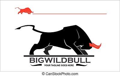 πυγμάχος , ταύρος , ταύρος , μαύρο , εικόνα , red., γουρλίτικο ζώο