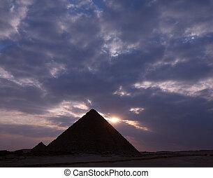 πυραμίδα , αιγύπτιος