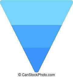 πυραμίδα , αναποδογυρίζω