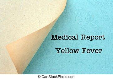 πυρετόs , κίτρινο