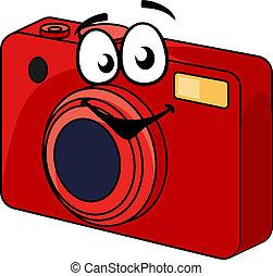 πυροβολώ , φωτογραφηκή μηχανή , κόκκινο , γραφικός , σημείο
