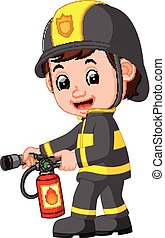 πυροσβέστης , γελοιογραφία
