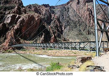 πόδια γέφυρα , διακεκριμένος φαράγγι