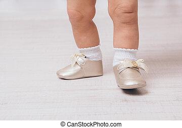 πόδια , μωρό , γκρο πλαν , παπούτσια , pointe
