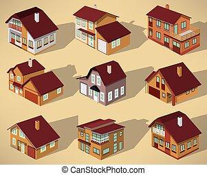 πόλη , άποψη , εμπορικός οίκος