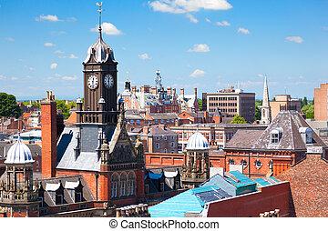 πόλη , βόρεια γιόρκσαϊρ , cityscape , αγγλία , york