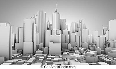 πόλη , γενική ιδέα