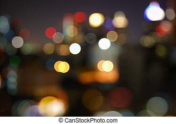 πόλη , θολός , πνεύμονες ζώων , νύκτα