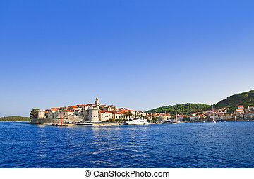 πόλη , κροατία , korcula