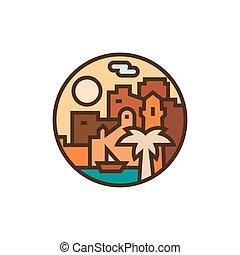 πόλη , μικροβιοφορέας , άκρη γηπέδου , εικόνα , ανατολικός