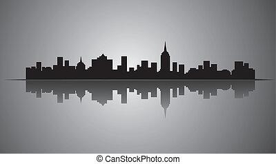 πόλη , περίγραμμα