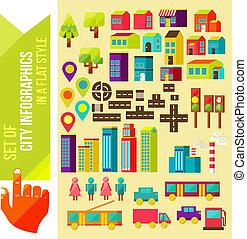 πόλη , ρυθμός , θέτω , infographics, διαμέρισμα
